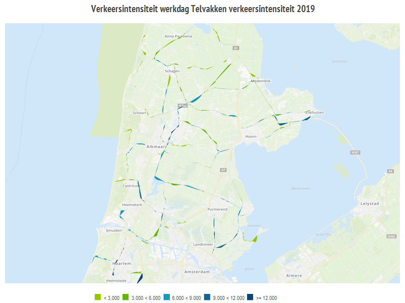 diagram over verkeer